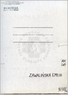Zawalińska Emilia
