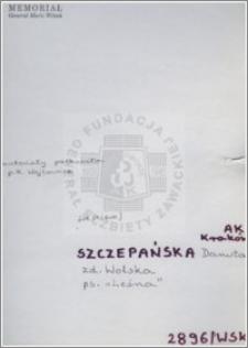 Szczepańska Danuta