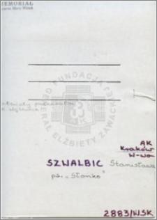 Szwalbic Stanisława