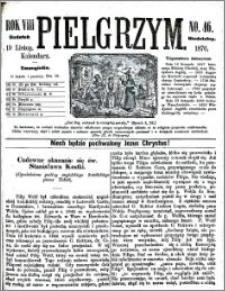 Pielgrzym, pismo religijne dla ludu. Dodatek niedzielny 1876 nr 46