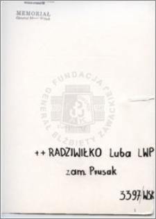 Radziwiłko Luba
