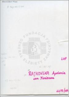 Rajkowska Apolonia