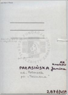 Pałasińska Janina