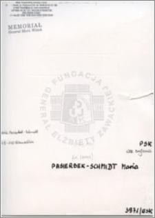Pasierbek-Schmidt Maria