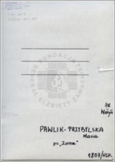 Pawlik-Przybylska Maria