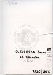 Olszewska Irena