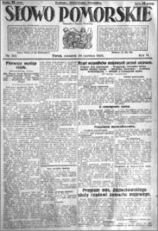 Słowo Pomorskie 1926.06.24 R.6 nr 142