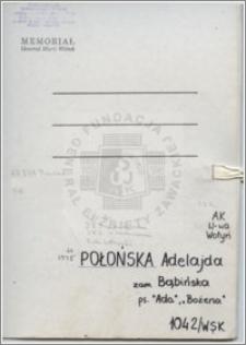 Połońska Adelajda