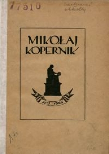 Mikołaj Kopernik : 1473-1923