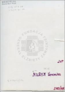 Muryn Weronika