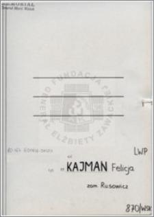 Kajman Felicja