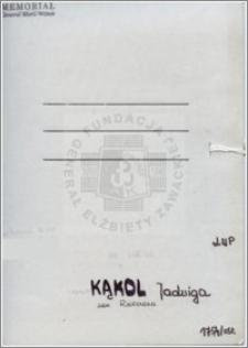 Kąkol Jadwiga