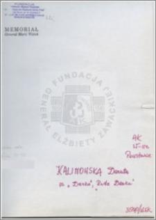 Kalinowska Danuta