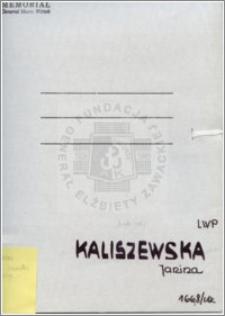 Kaliszewska Janina