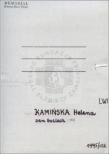 Kamińska Helena