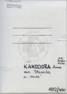 Kandziora Anna