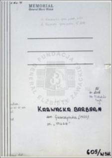 Karwacka Barbara