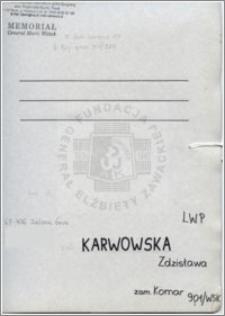 Karwowska Zdzisława
