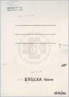Kasicka Helena
