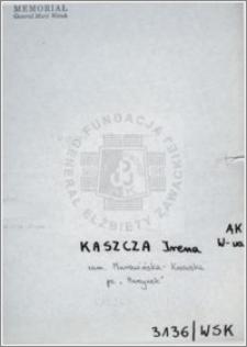 Kaszcza Irena