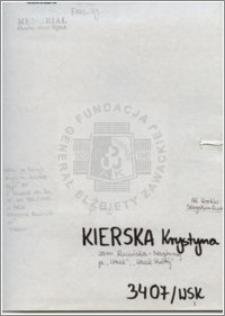 Kierska Krystyna