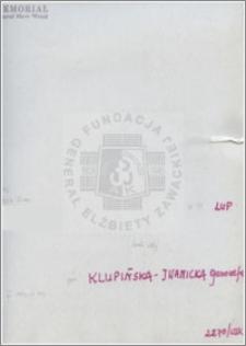 Klupińska-Iwanicka Genowefa