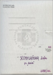 Kobylańska Zofia