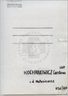 Kochanowicz Czesława