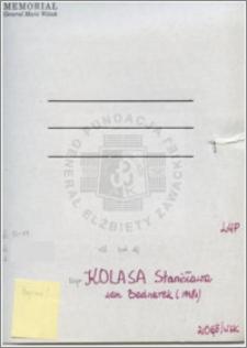 Kolasa Stanisława