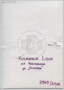 Kolasowa Lidia