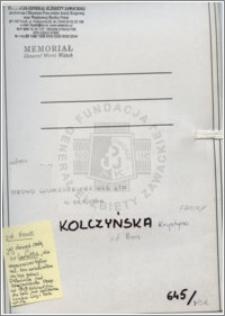 Kolczyńska Krystyna