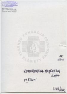 Komorowska-Majewska Zofia
