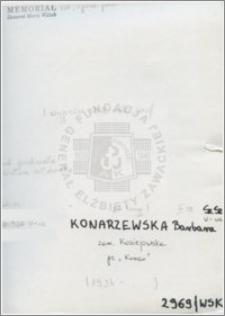 Konarzewska Barbara