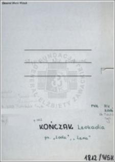 Kończak Leokadia