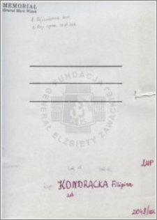 Kondracka Filipina