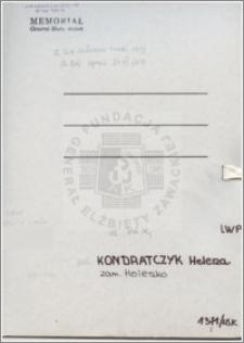 Kondratczyk Helena