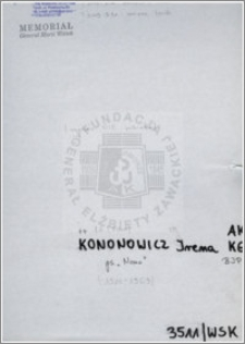 Kononowicz Irena