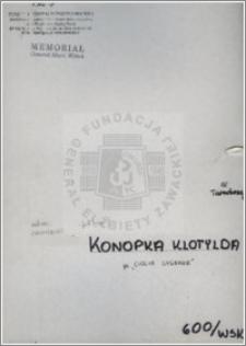 Konopka Klotylda
