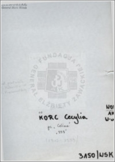 Korc Cecylia