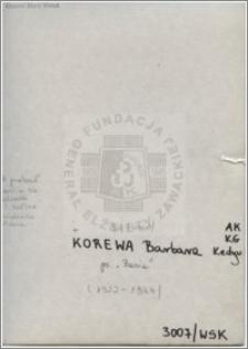 Korewa Barbara