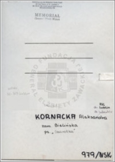 Kornacka Aleksandra