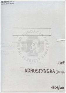 Korostyńska Józefa