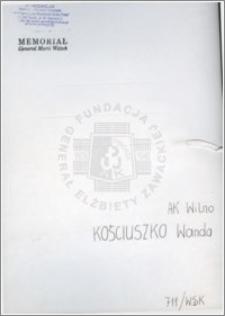 Kościuszko Wanda