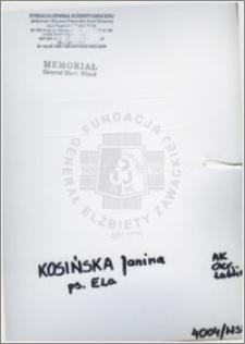 Kosińska Janina