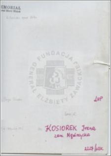 Kosiorek Irena