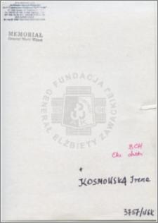 Kosmowska Irena