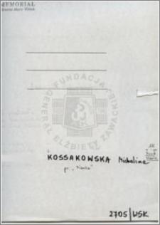Kossakowska Michalina