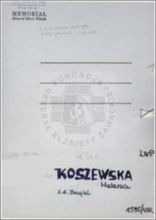 Koszewska Helena