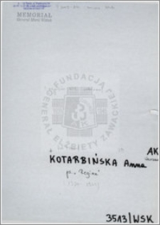 Kotarbińska Anna