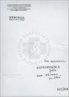 Kotkorowska Julia